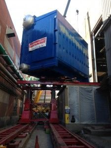 Boiler delivery and impact to residents…